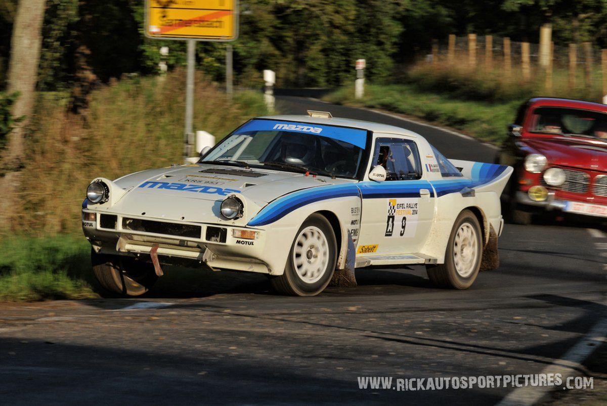 Legend Mazda RX-7 Eifel Rallye 2014