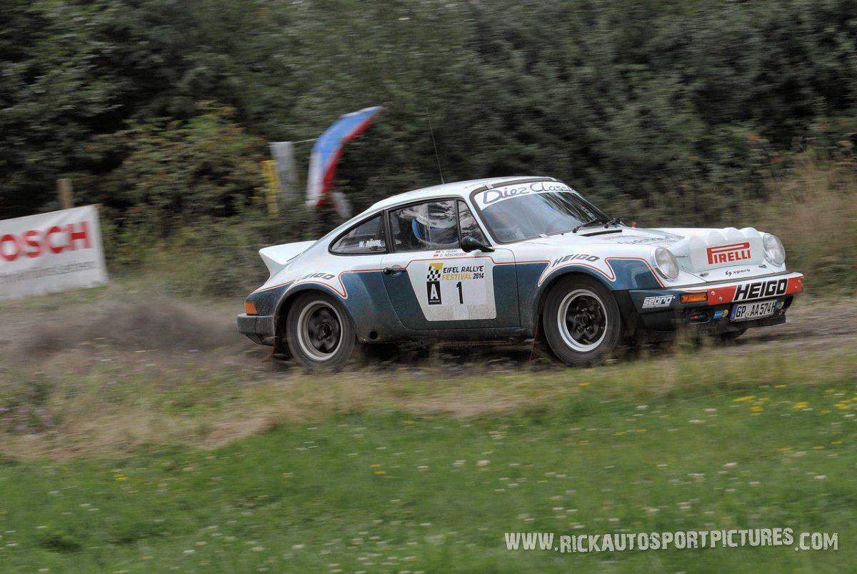Legend Porsche 911 RSR Eifel Rallye 2014