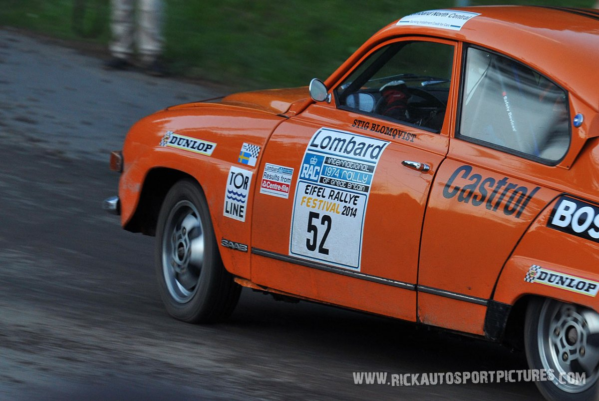 Legend Saab 96 Eifel Rallye 2014