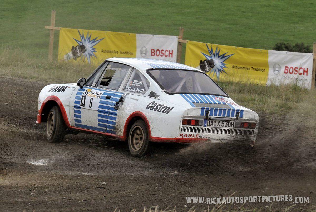 Legend Skoda 130RS Eifel Rallye 2014
