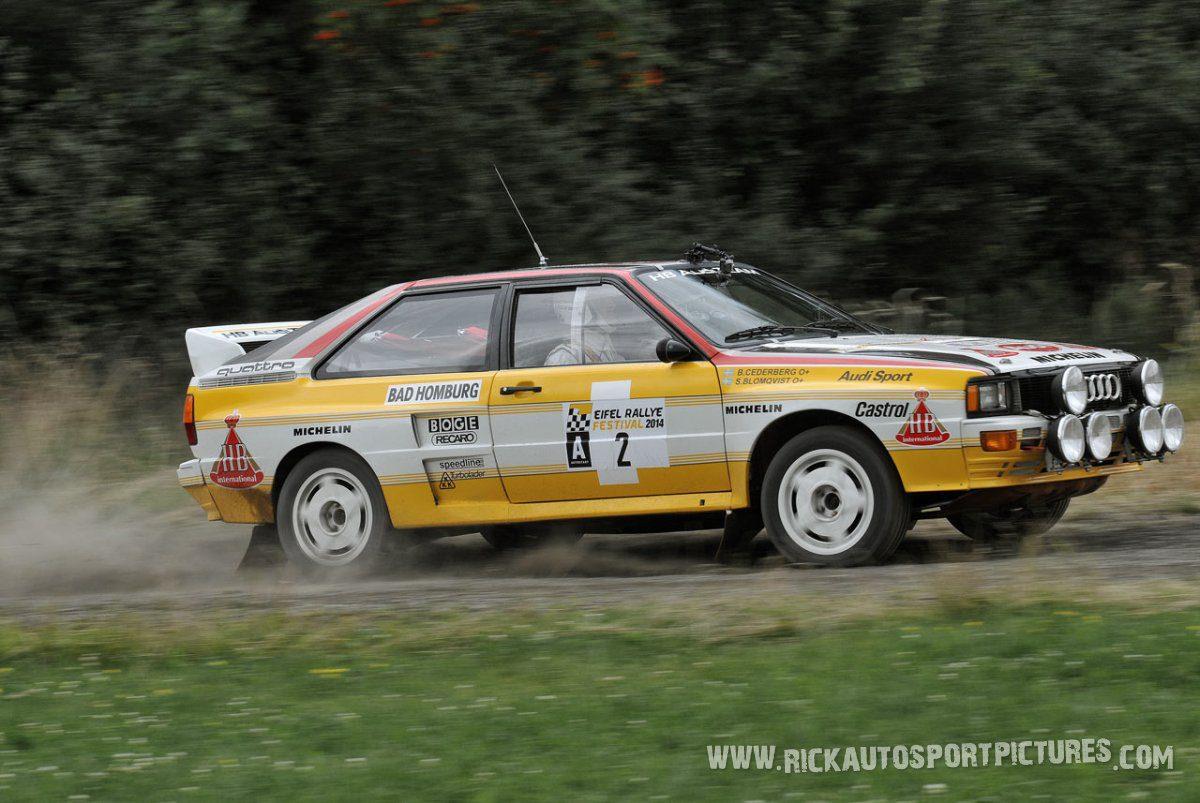 Legend Audi Quattro A2 Eifel Rallye 2014