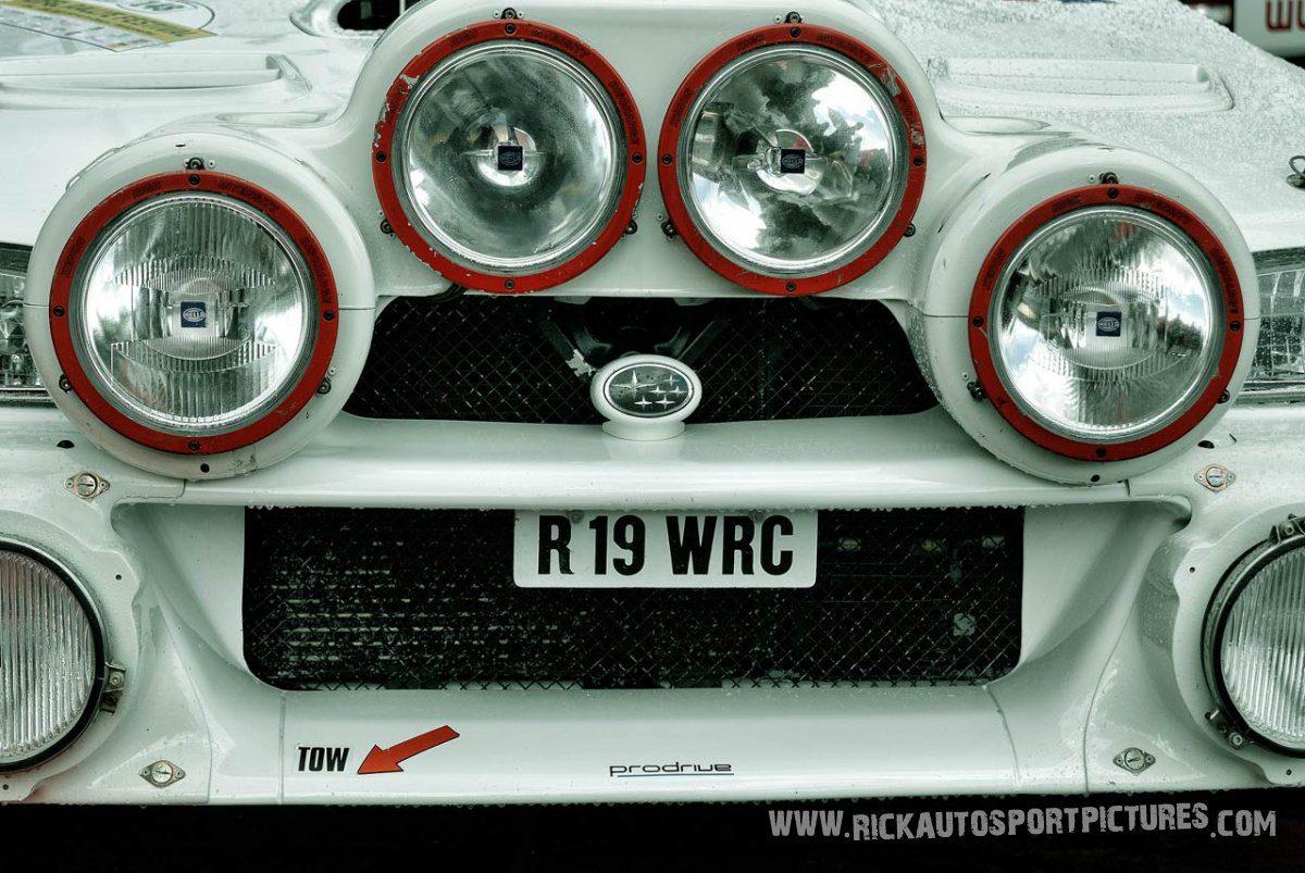 Legend Subaru Impreza WRC Eifel Rallye 2014