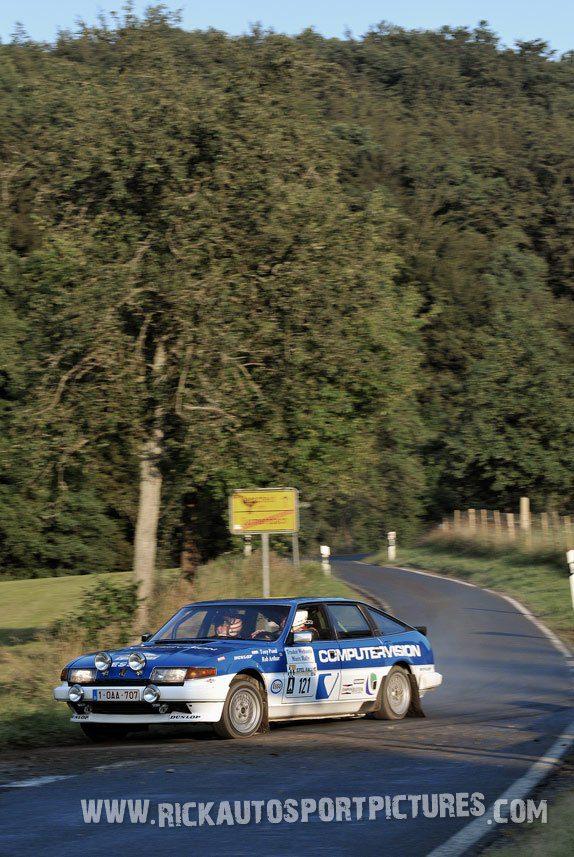 Legend Rover Vitesse Eifel Rallye 2014
