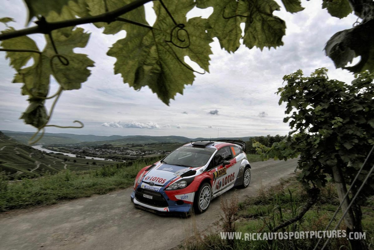 Robert Kubica Deutschland Rally 2014
