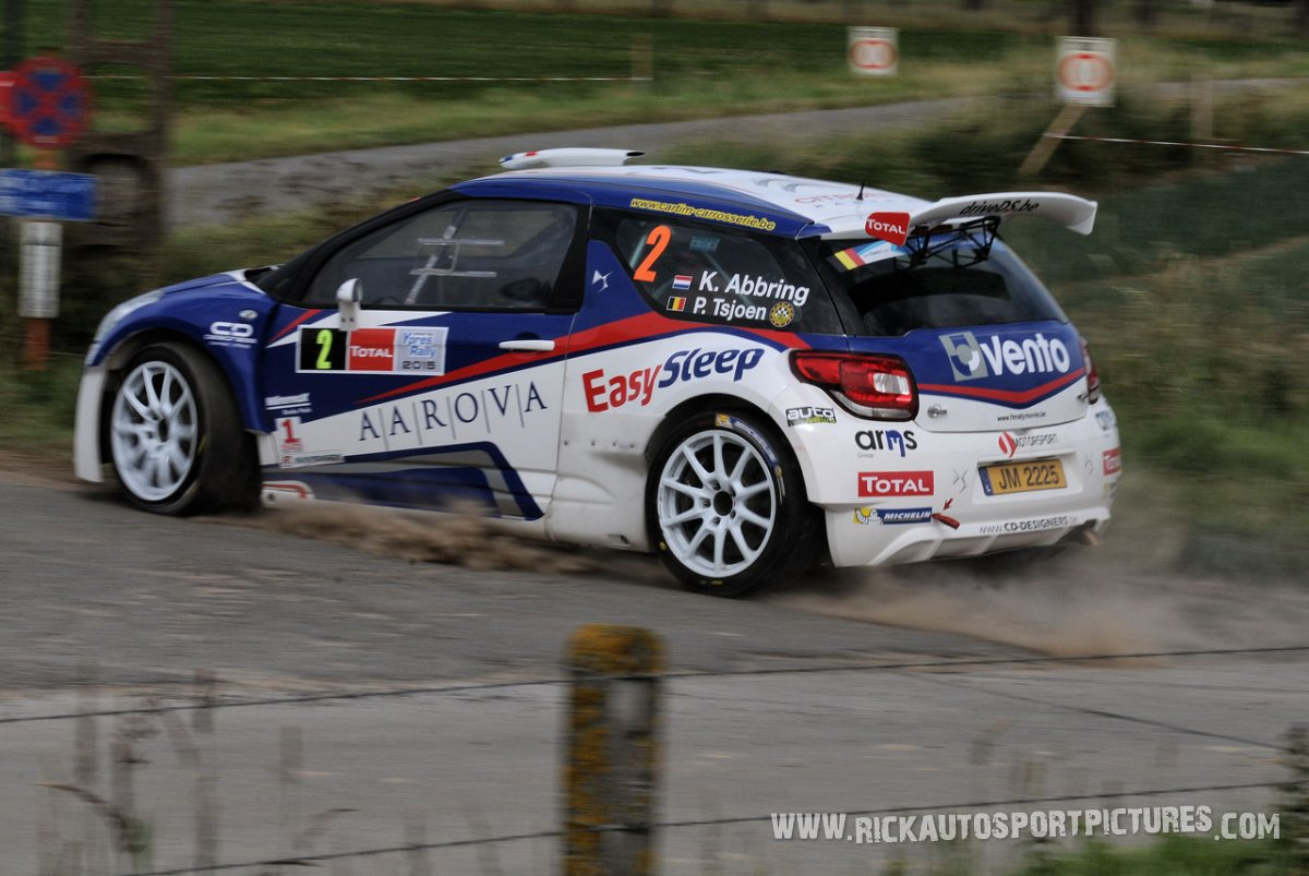 Kevin Abbring ypres ieper rally 2015