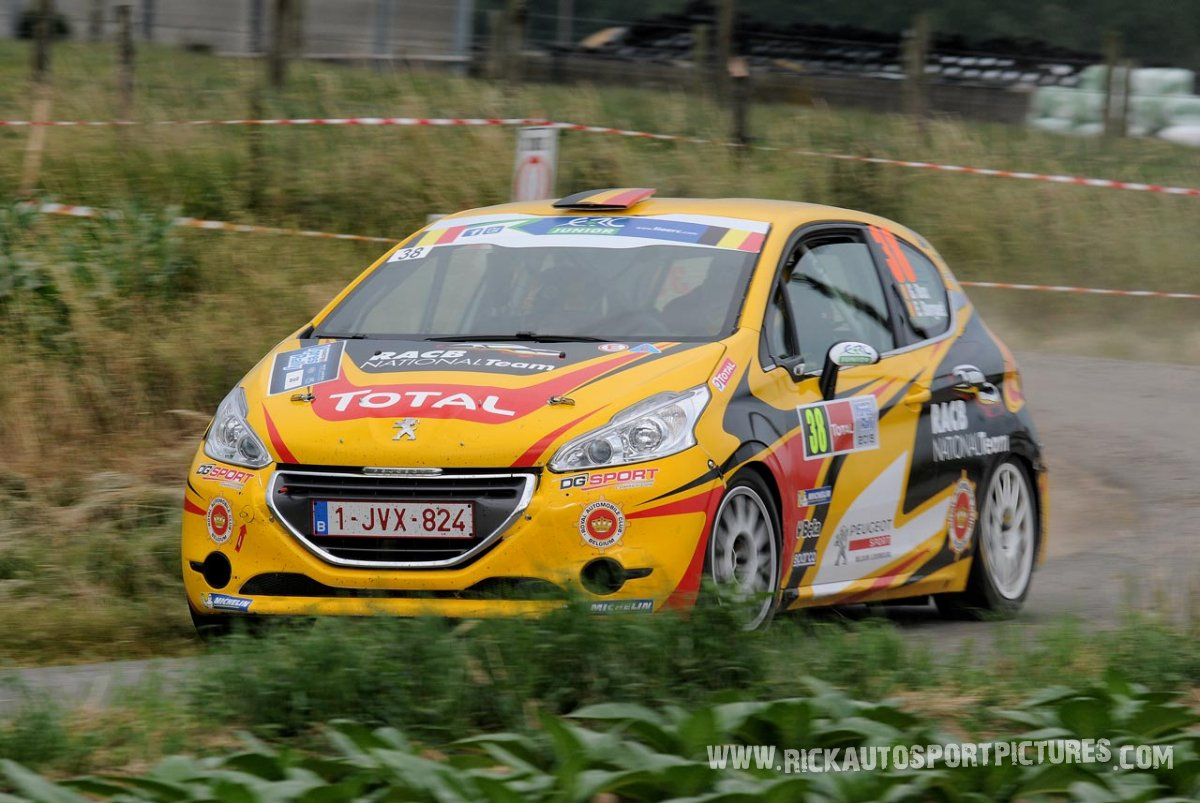 Gino Bux ypres ieper rally 2015