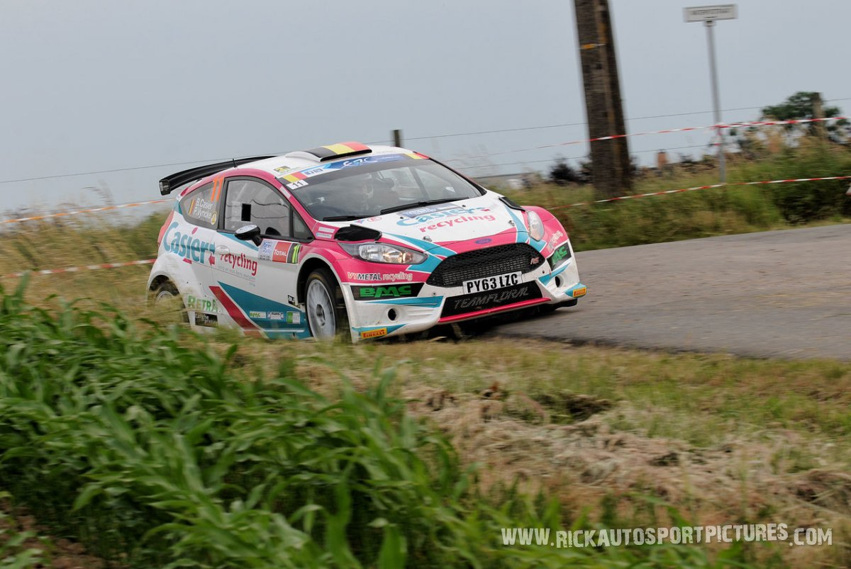 Bernd Casier Ypres Ieper Rally 2015