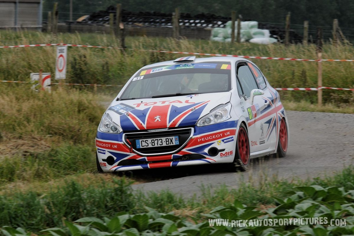 Chris Ingram ypres ieper rally 2015
