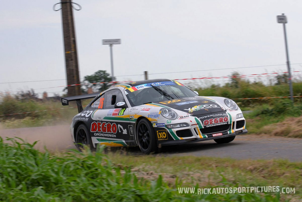 Patrick Snijers Ypres Ieper Rally 2015