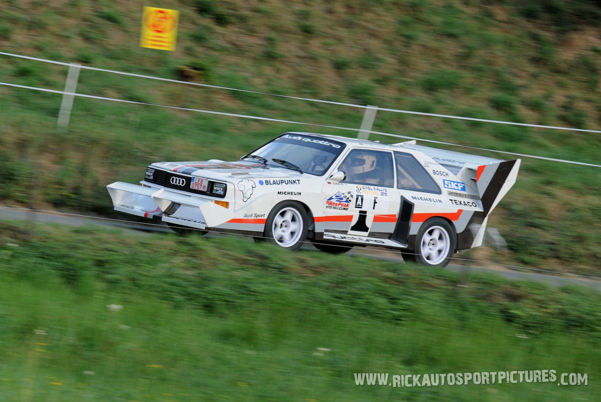 Legend Audi Pikes Peak Eifel Rallye 2015