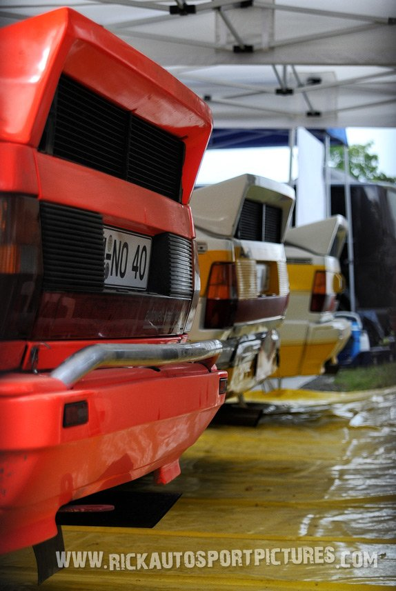 legend Audi Quattro Eifel Rallye 2015