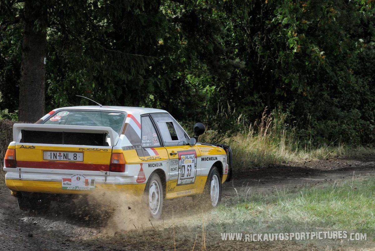 Legend Audi Sport Quattro Eifel Rallye 2015