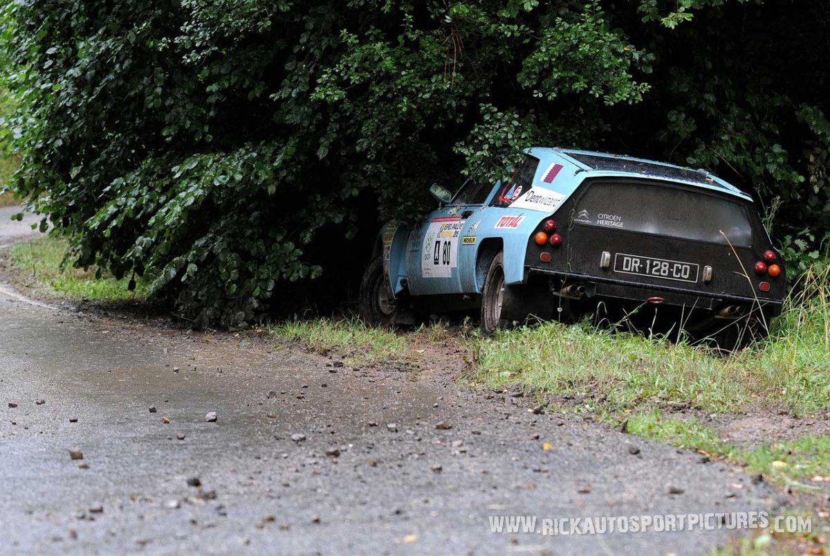 Legend Citroën SM Proto Eifel Rallye 2015