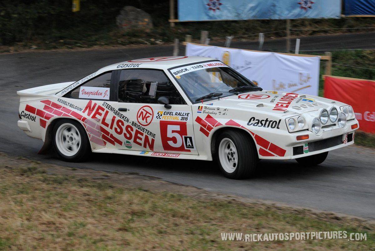 Legend Opel Manta 400 Eifel Rallye 2015