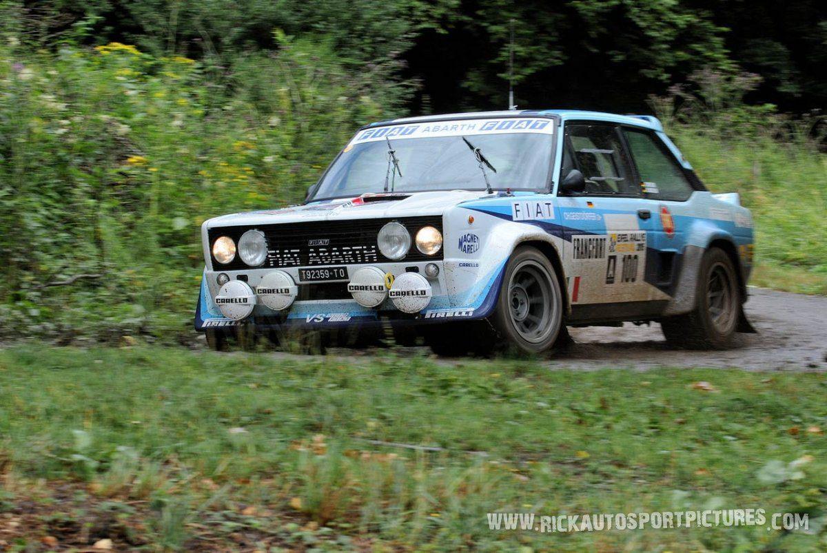Legend Fiat Abarth Eifel Rallye 2015