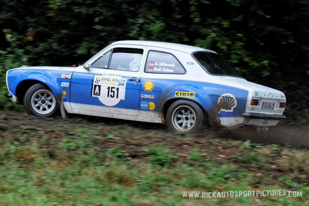 Legend Ford Escort RS1600 Eifel Rallye 2015