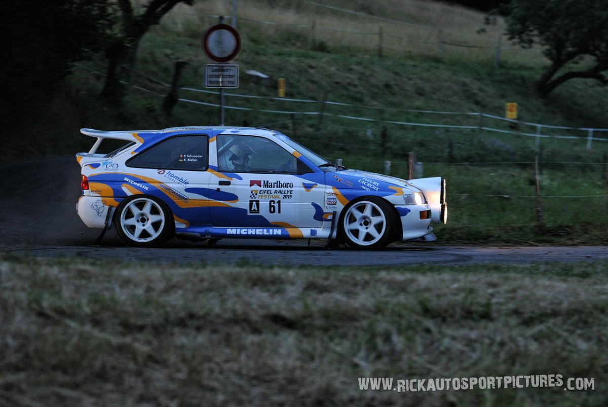 Legend Ford RS Cosworth Eifel Rallye 2015