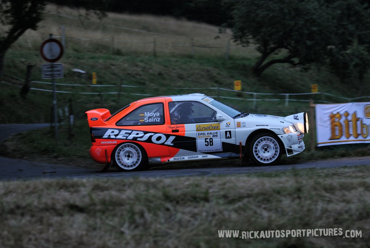 Legend Ford Escort WRC Eifel Rallye 2015