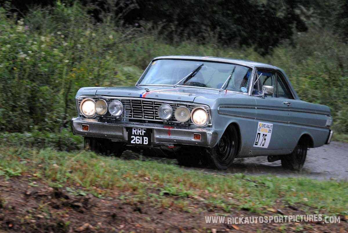 Legend Ford Falcon Eifel Rallye 2015