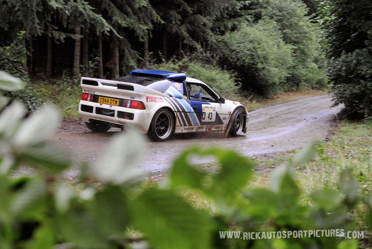 Legend Ford RS 200 Eifel Rallye 2015