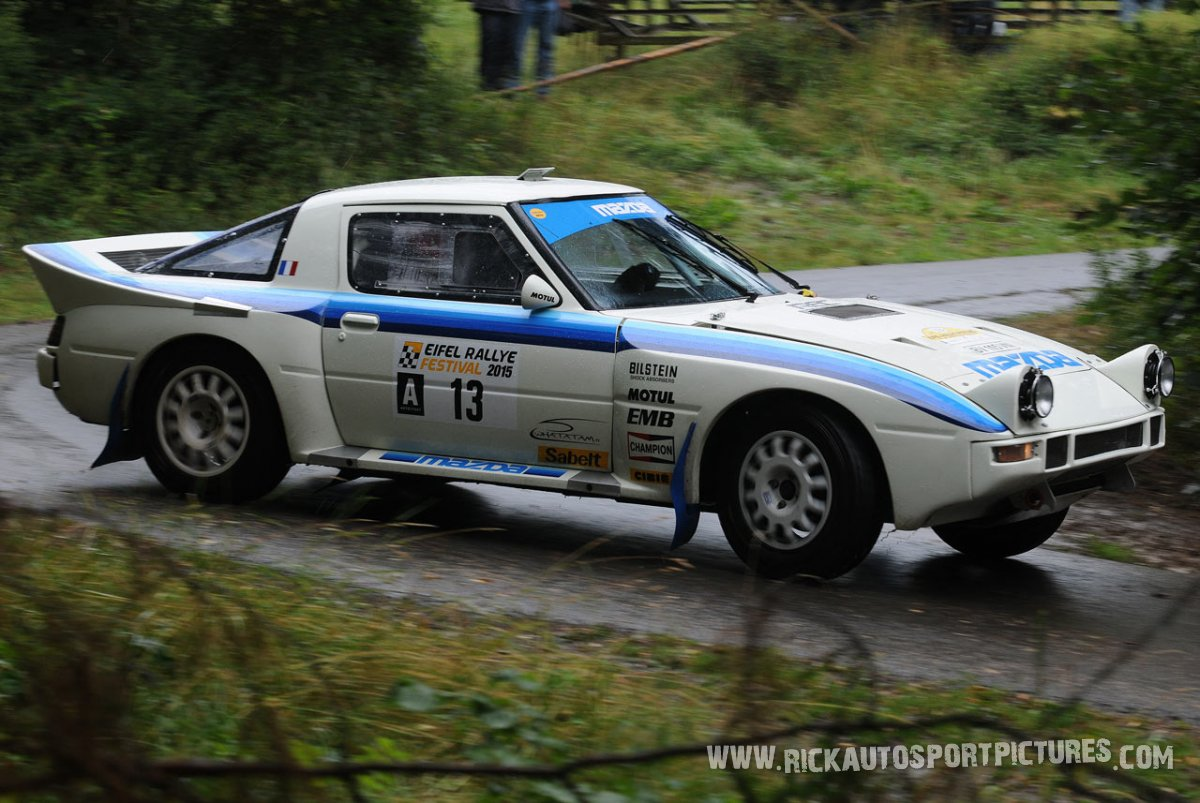 Legend Philippe Gache Eifel Rallye 2015