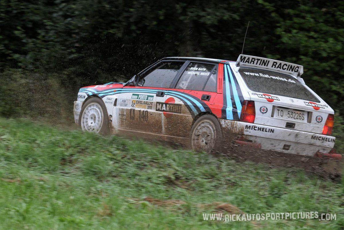 Legend Lancia Delta Integrale Eifel Rallye 2015