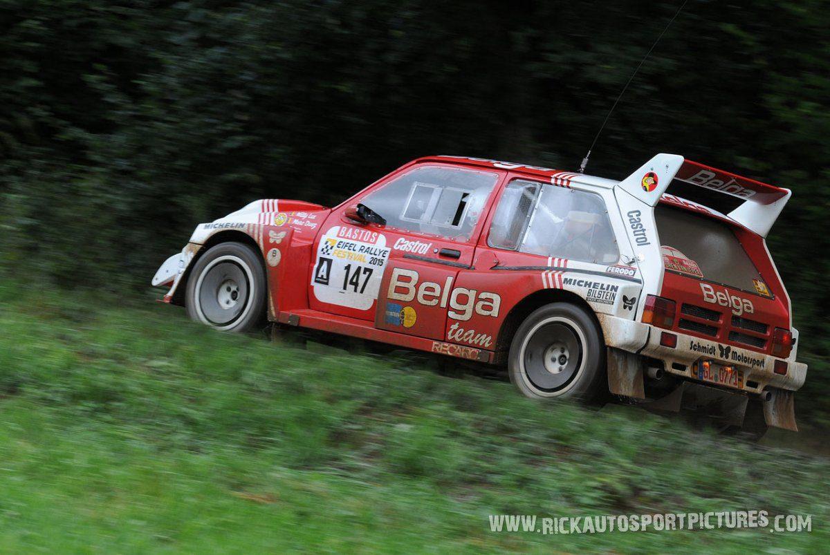 Legend MG Metro 6R4 Eifel Rallye 2015