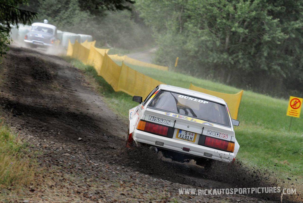 Legend Nissan 240RS Eifel Rallye 2015