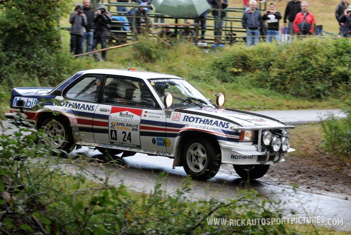 Legend Opel Ascona 400 Eifel Rallye 2015