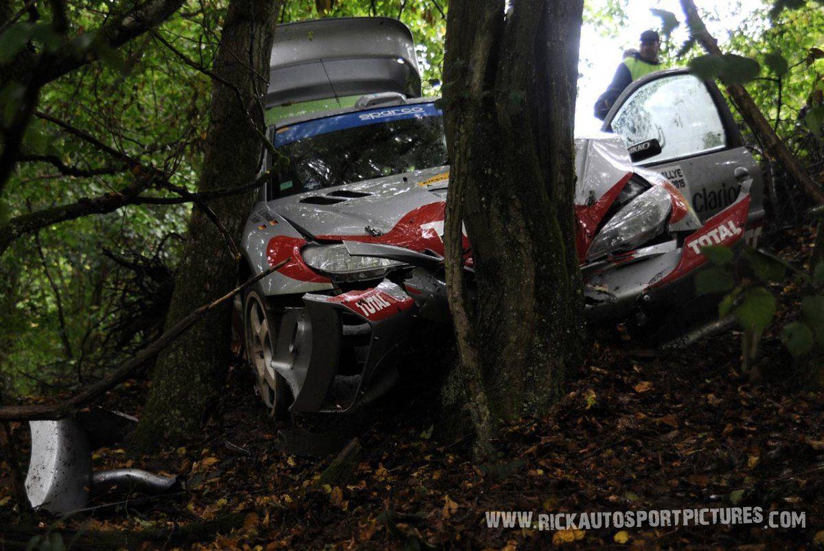 Legend Peugeot 206 WRC Eifel Rallye 2015