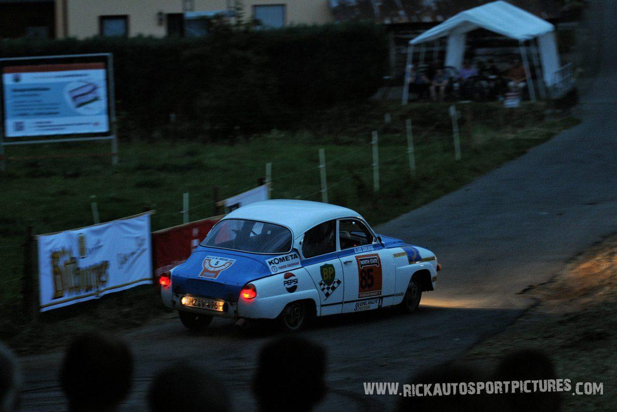 Legend Saab 96 Eifel Rallye 2015