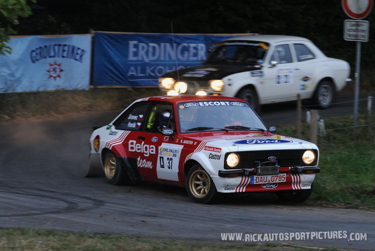 Legend Ford Escort RS1800 MK II Eifel Rallye 2015