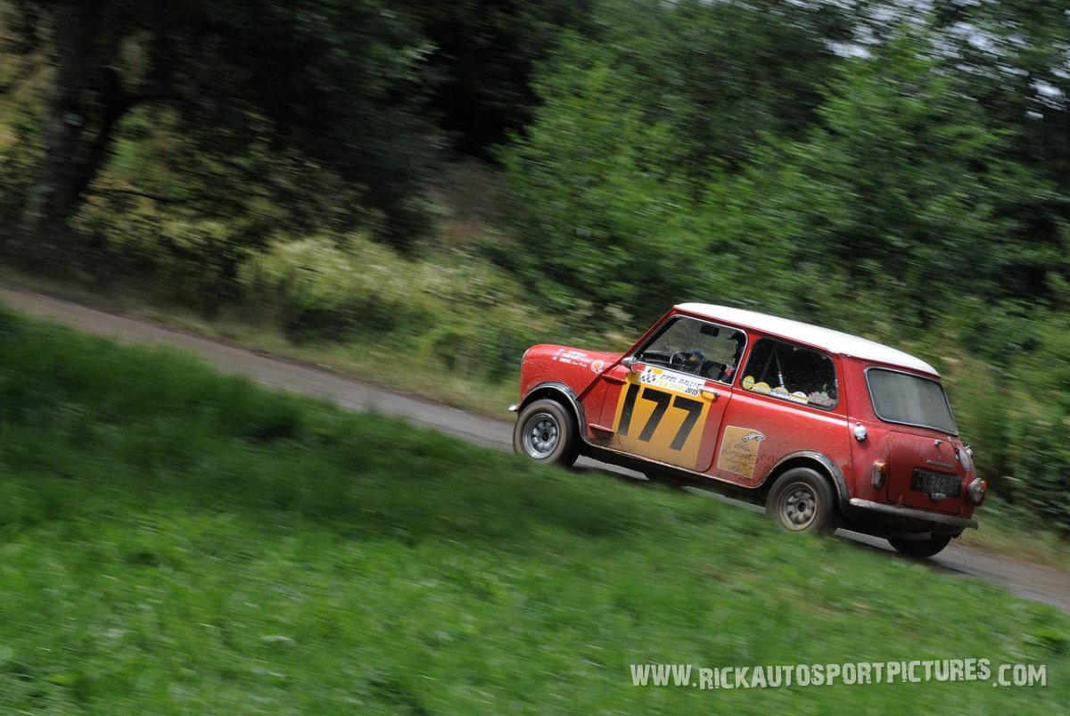 Legend Mini Cooper Eifel Rallye 2015
