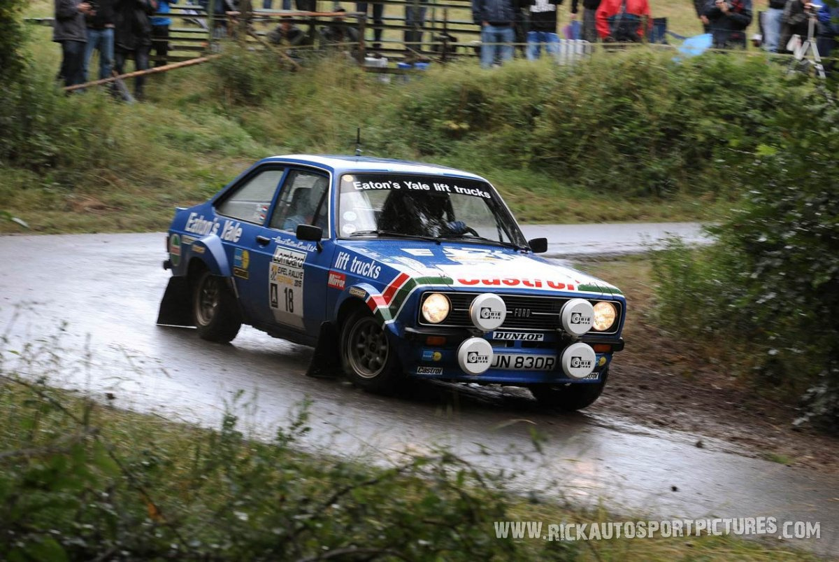 Legend Ford Escort RS1800 Eifel Rallye 2015