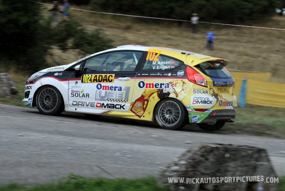 Marius Aasen Deutschland Rally 2015