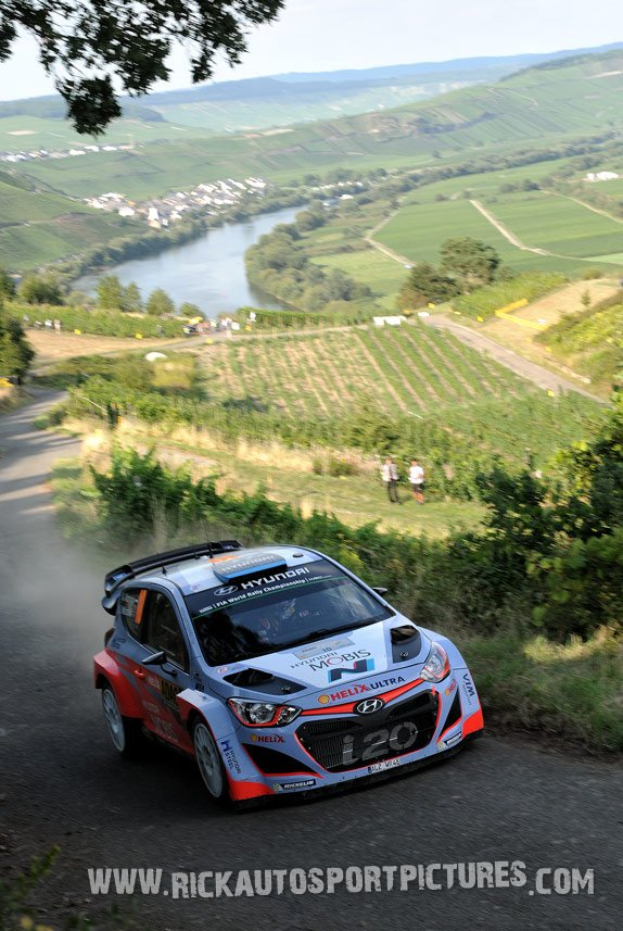 Kevin Abbring Deutschland Rally 2015