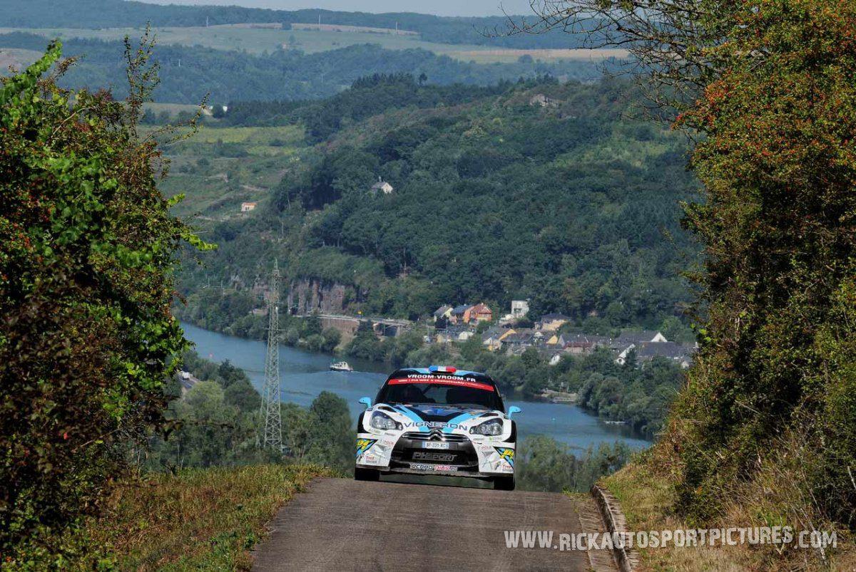 Quentin Giordano Deutschland Rally 2015