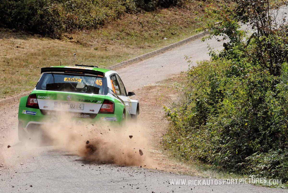 Jan Kopecky Deutschland Rally 2015