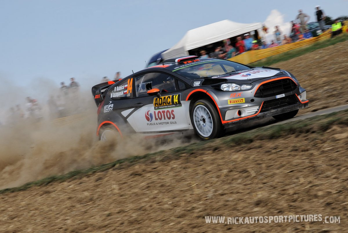 Robert Kubica Deutschland Rally 2015