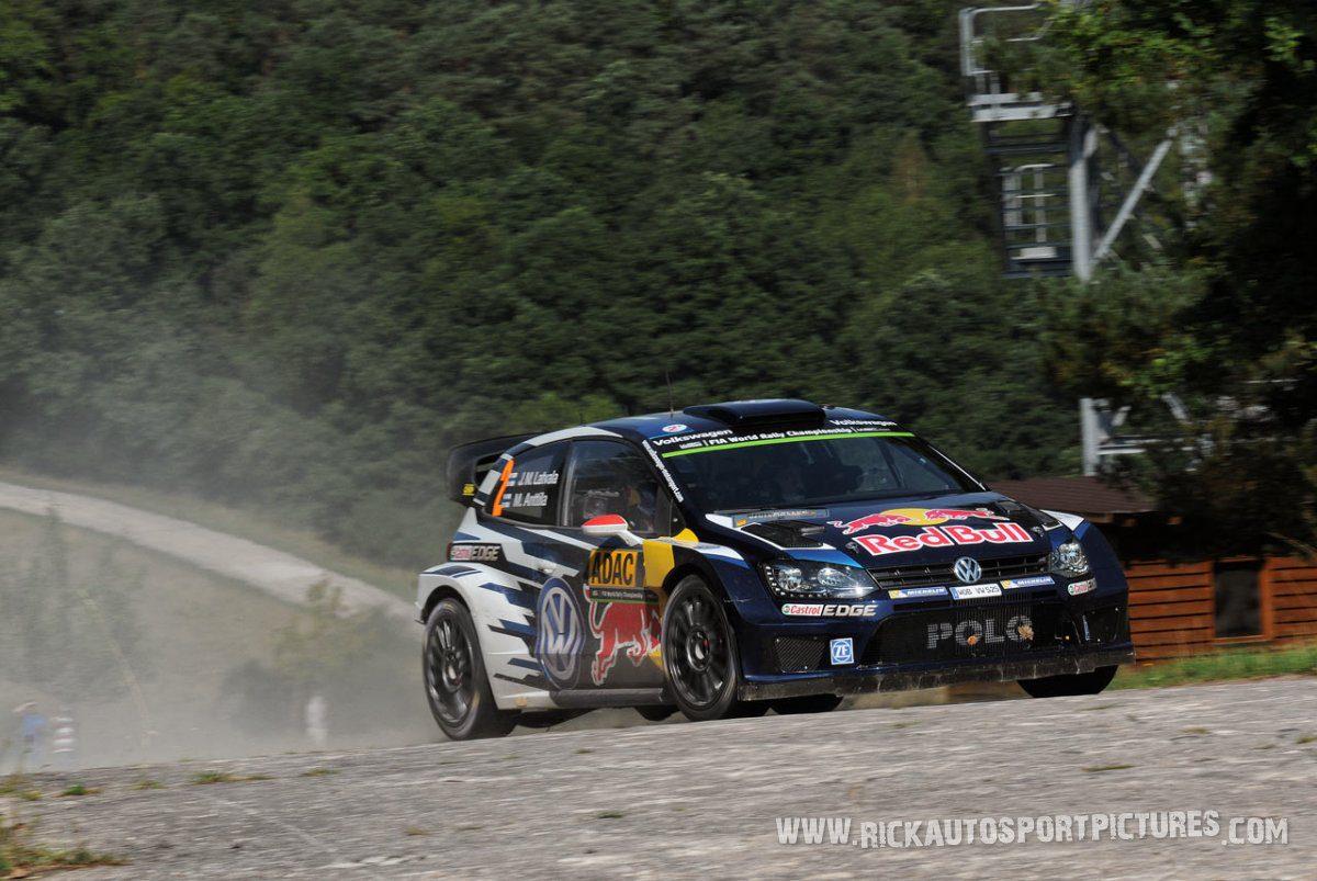 Jari-Matti Latvala Deutschland Rally 2015