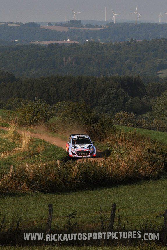 Thierry Neuville Deutschland Rally 2015