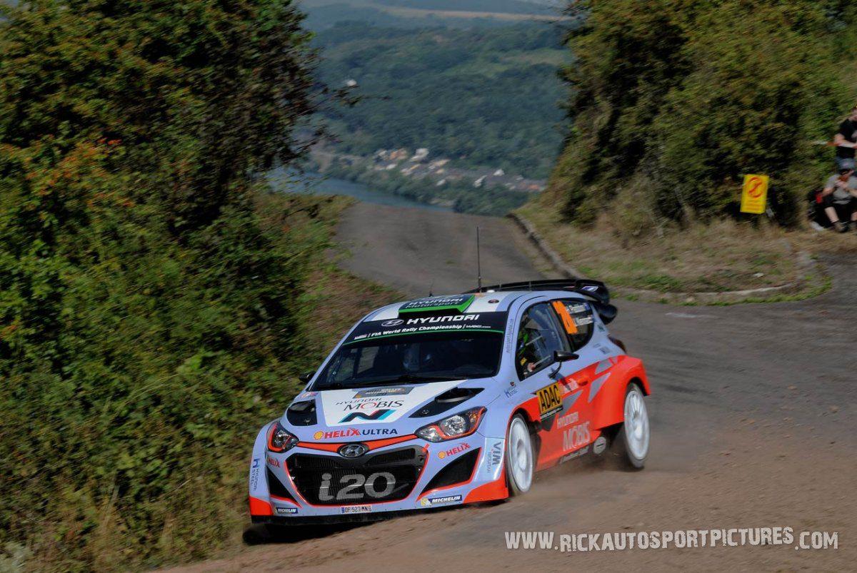 Hayden Paddon Deutschland Rally 2015