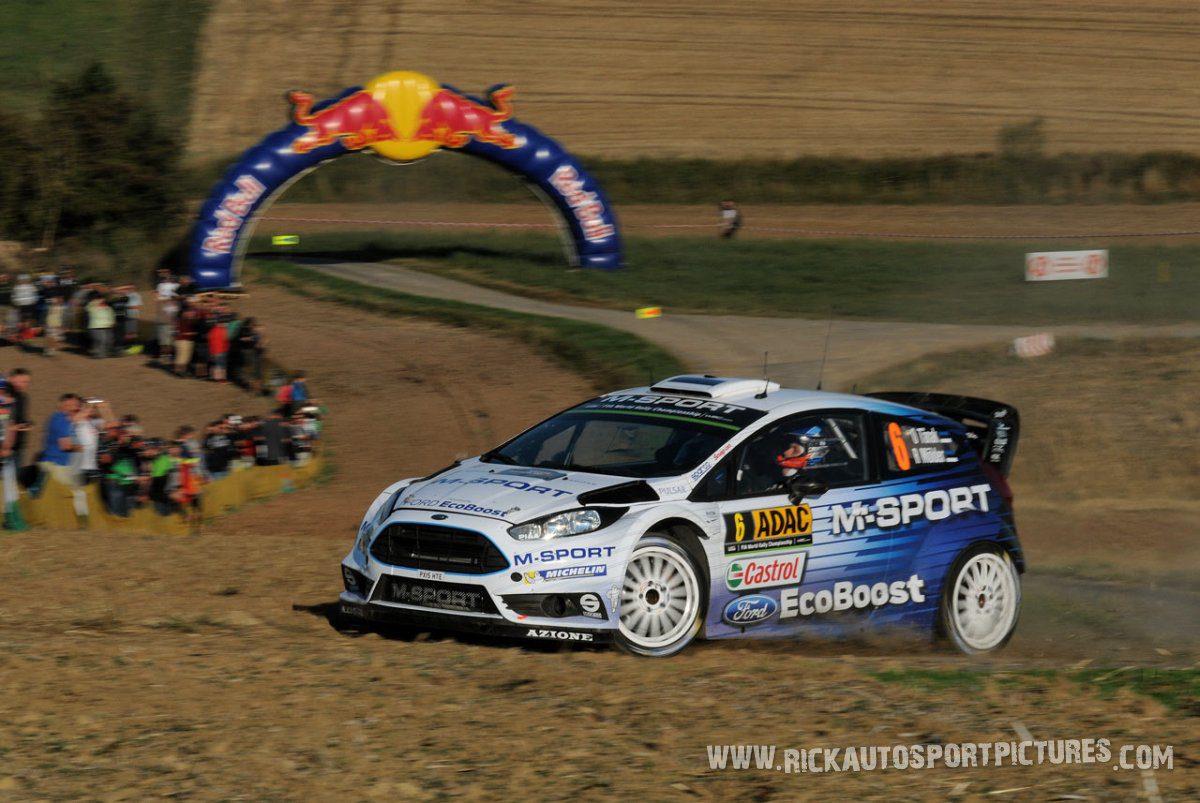 Ott Tänak Deutschland Rally 2015