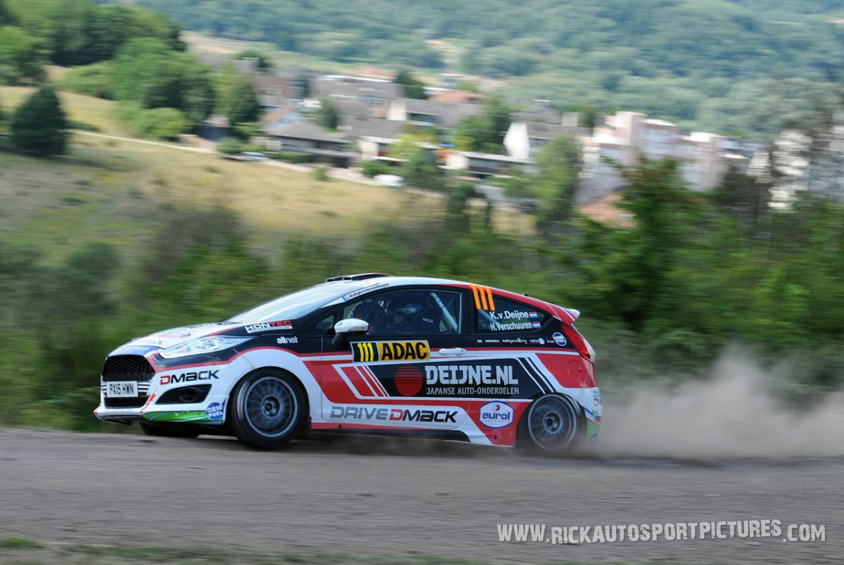 Kevin van Deijne Deutschland Rally 2015