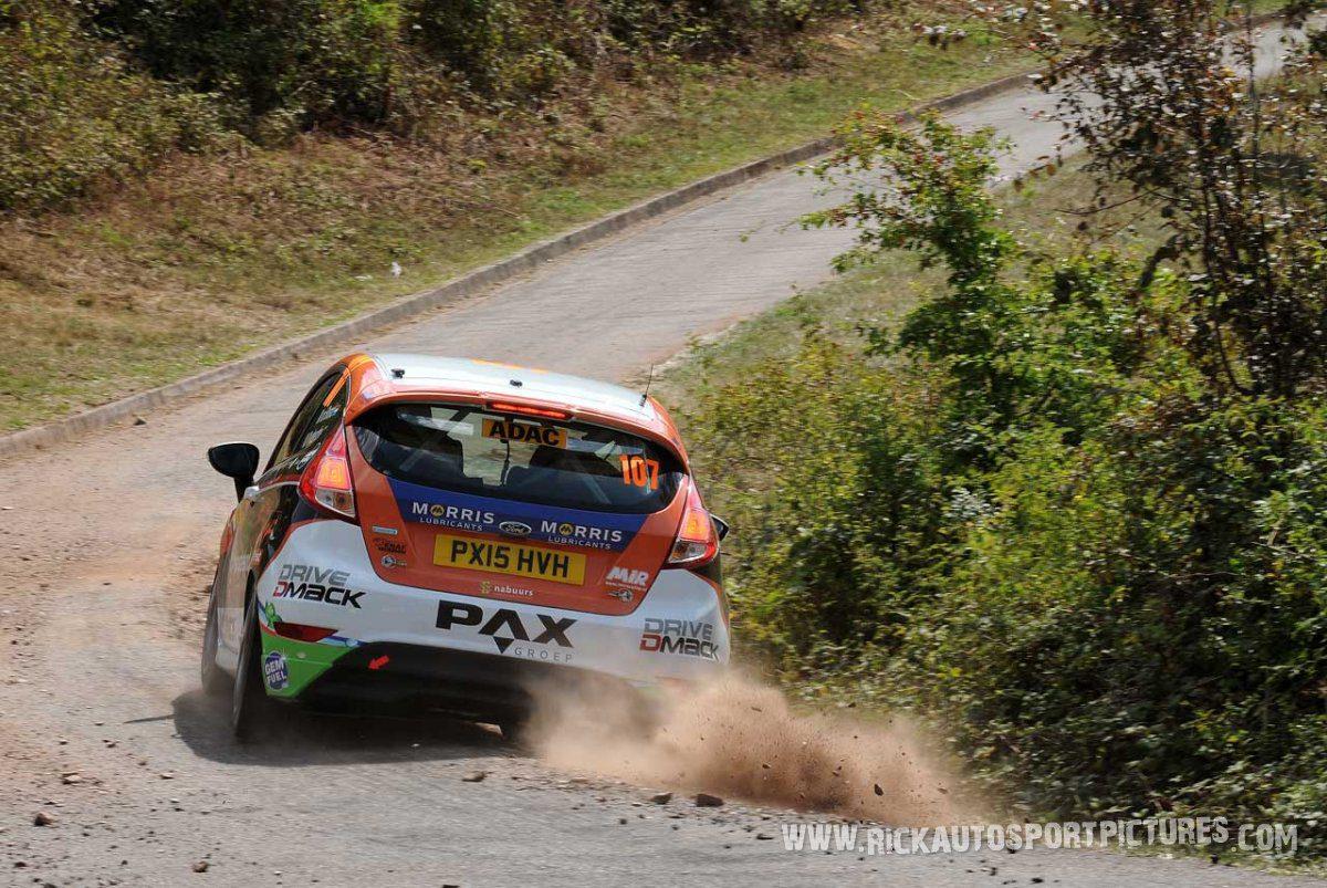 Mats van den Brand Deutschland Rally 2015