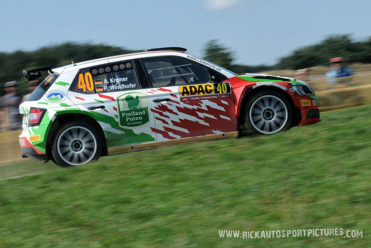 Armin Kremer Deutschland Rally 2015