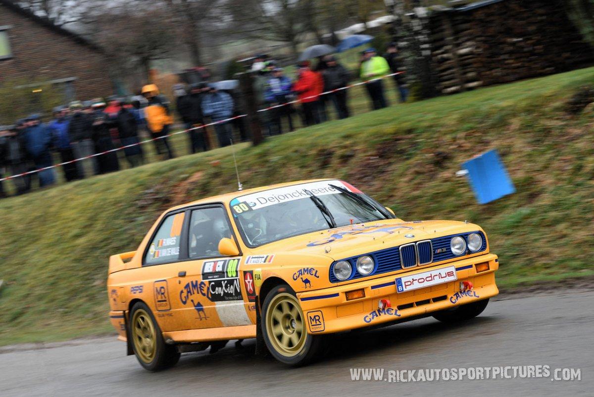 Robin Maes M3-Spa-Rally-2017