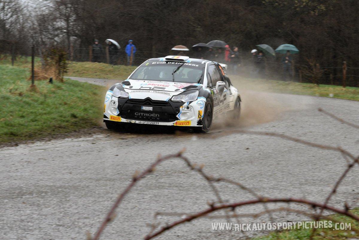 Cedric Cherain-Spa-Rally-2017