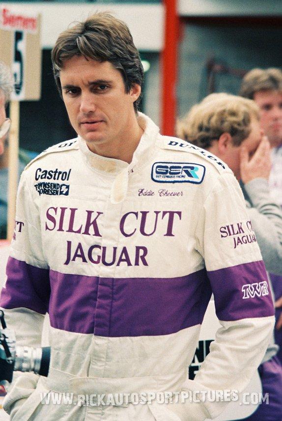 Eddie Cheever-1000 km Spa-1987