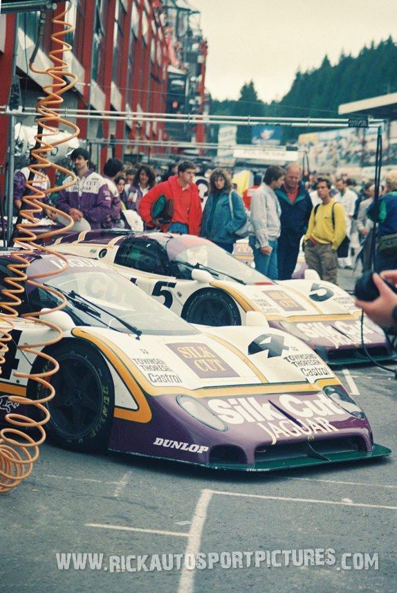 Silk Cut Jaguar-1000 km Spa-1987